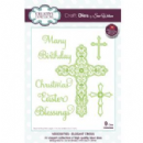 Creative Expressions Dies by Sue Wilson Necessities Collection - Elegant Cross